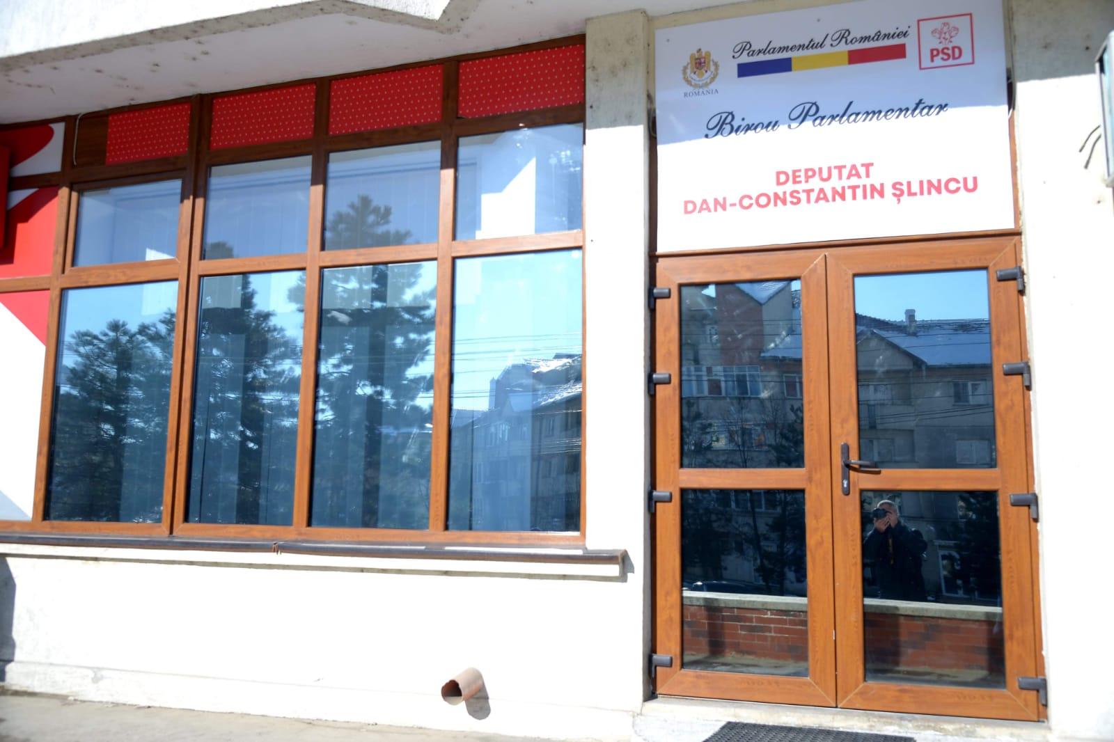 Deputatul social-democrat Dan Șlincu a deschis birou parlamentar în municipiul Dorohoi