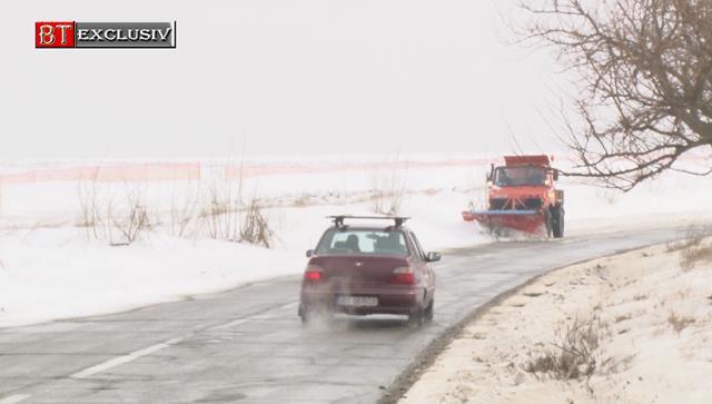 Traficul a fost reluat pe DN 24C între localitățile Manoleasa și Stânca