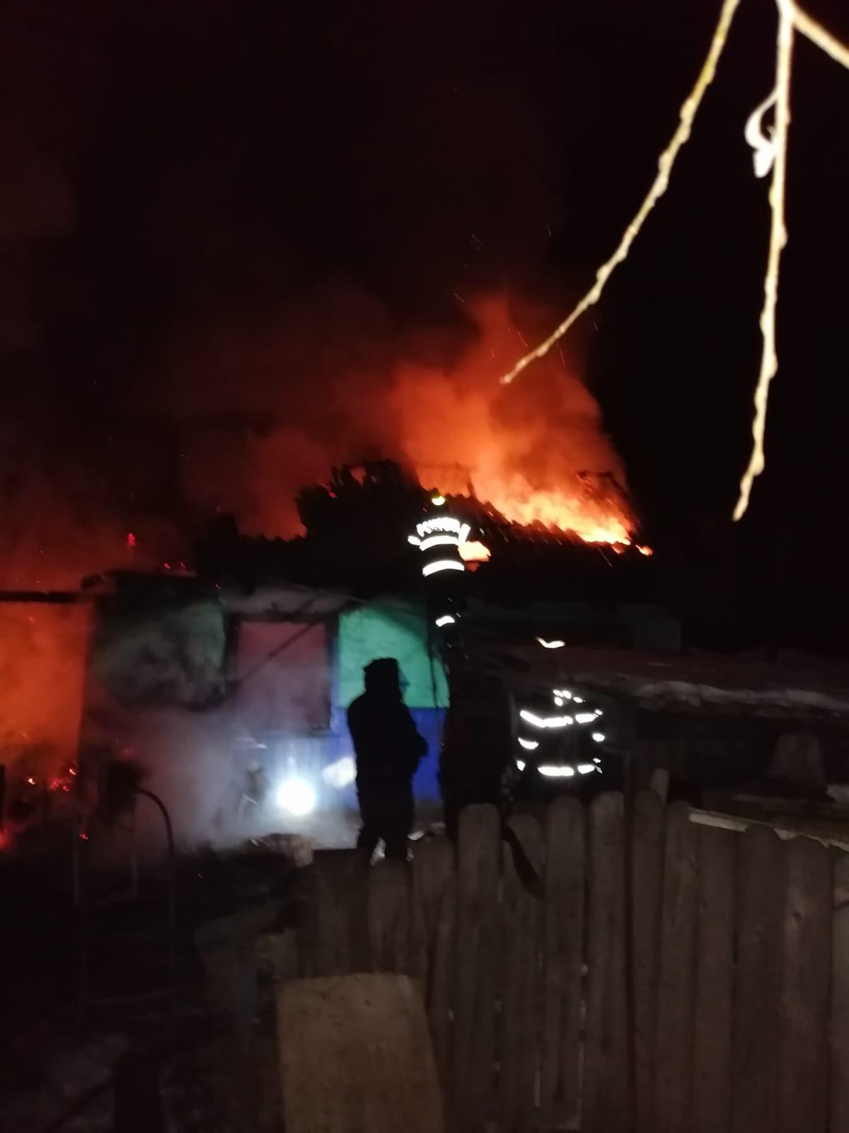 GORBĂNEȘTI: O femeie și-a pierdut viața într-un incendiu