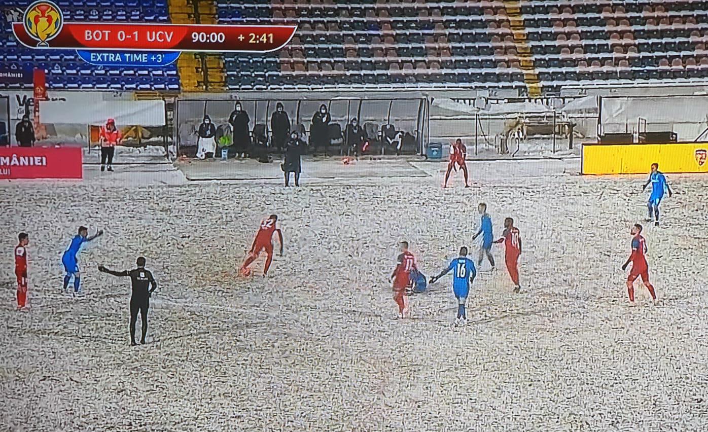 FC Botoșani – Universitatea Craiova 0-1. Botosanenii părăsesc Cupei României!