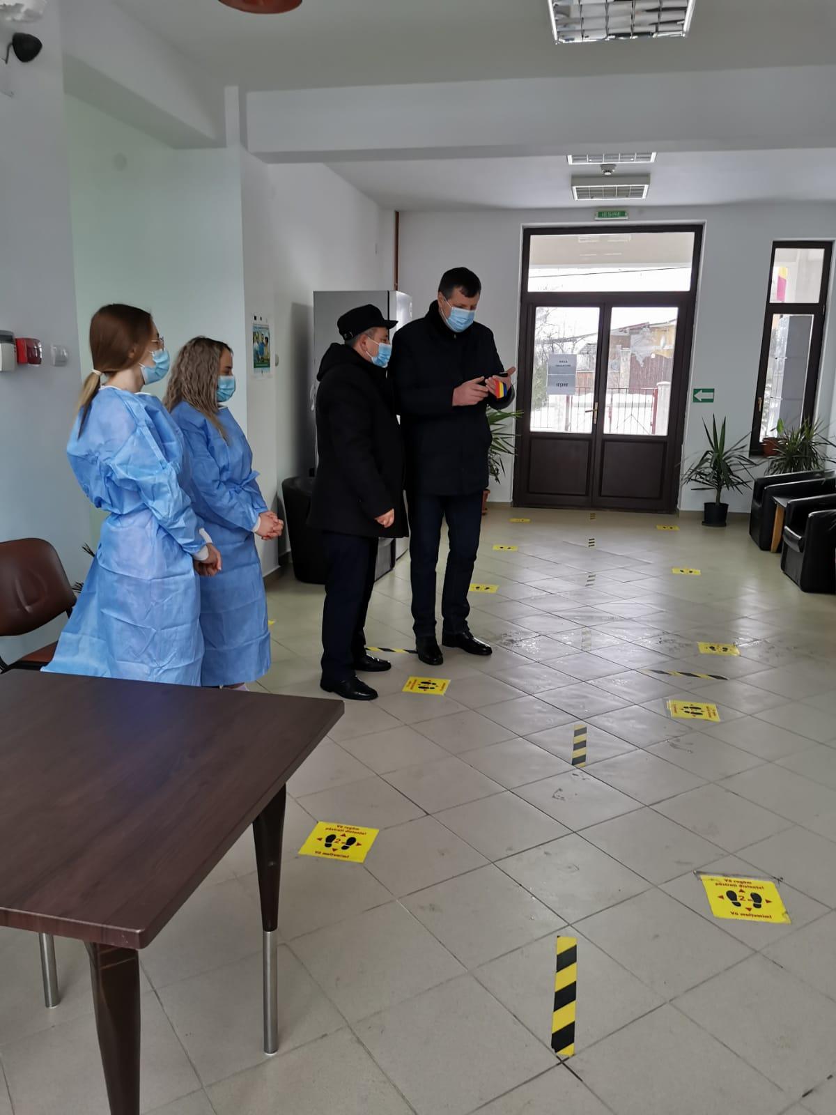 Încă trei centre de vaccinare DESCHISE în județul Botoșani