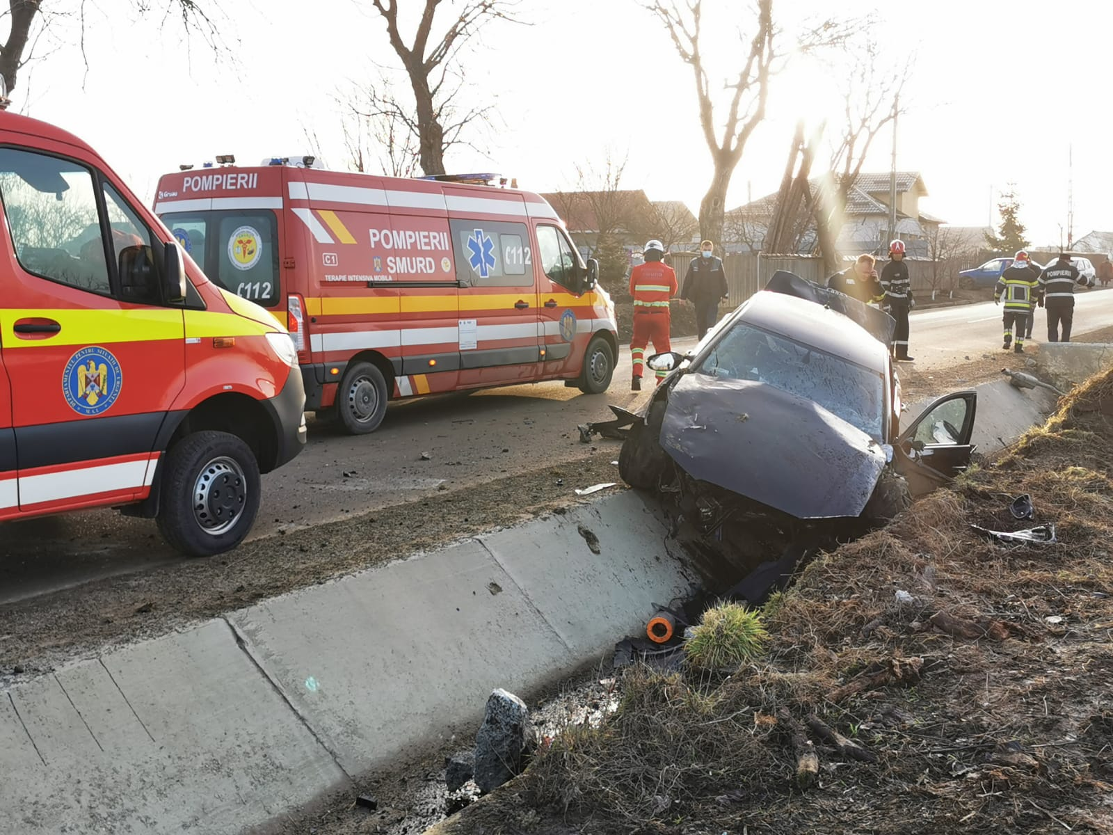 ACUM: Grav accident de circulație în zona localității Orășeni-Deal