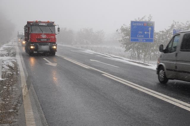 Drumurile naționale din Botoșani sunt deschise circulației