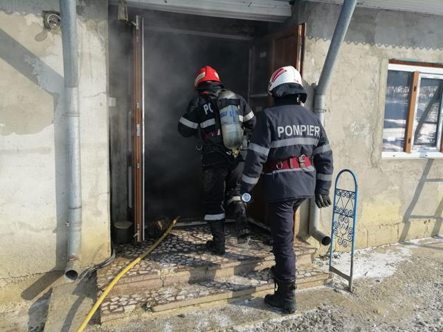 15 incendii la Botoșani, în cele patru zile de ger