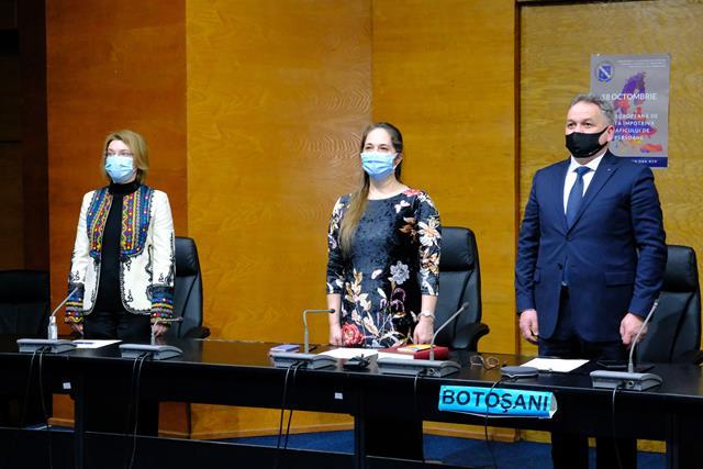 FOTO/VIDEO   ASTĂZI: Noua conducere a Prefecturii Botoșani a fost învestită în funcție