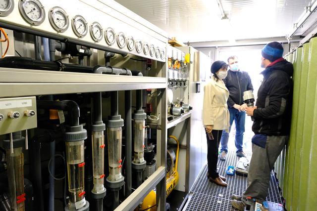 VIDEO/FOTO   Staţie de tratare a levigatului prin osmoză inversă instalată la depozitul ecologic de la Stăuceni