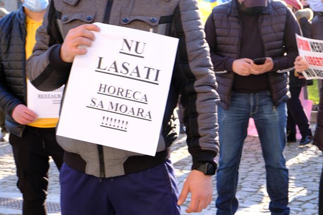 Zeci de amenzi după protestul de ieri
