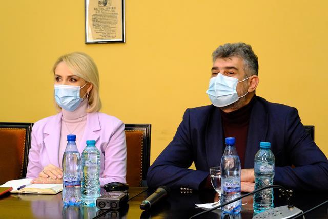 VIDEO/FOTO Președintele PSD, Marcel Ciolacu, s-a aflat astăzi în vizită la Botoșani