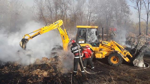 Misiunile pompierilor în ultima săptămână