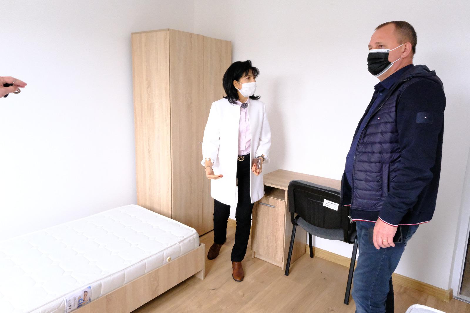 Cinci apartamente moderne pentru copiii aflați în grija DGASPC