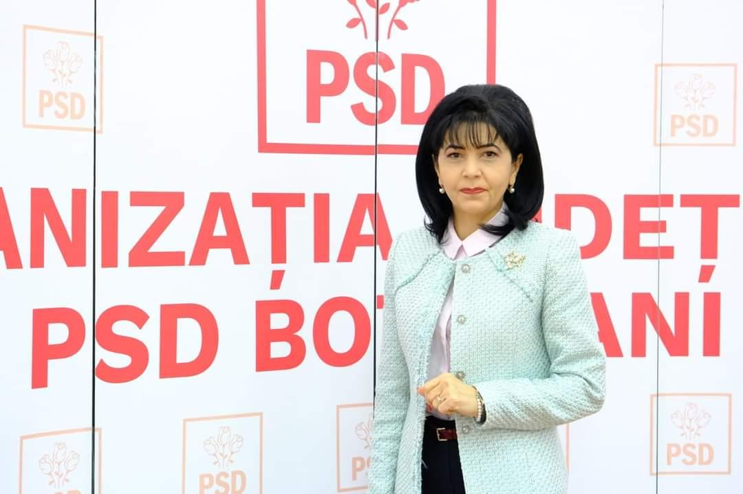 """Doina Federovici, președinte PSD Botoșani: """"Cele trei partide care au pierdut alegerile sunt responsabile de criza pe care au creat-o"""""""