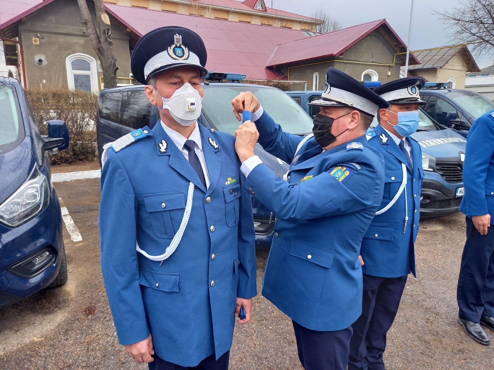 FOTO | Recompense acordate cu ocazia Zilei Jandarmeriei Române