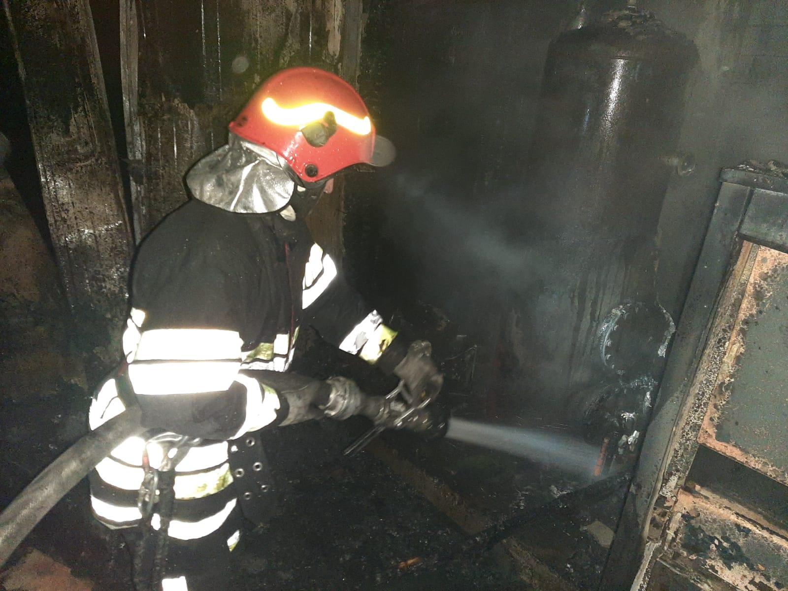 NICSENI: Locuința distrusă într-un incendiu