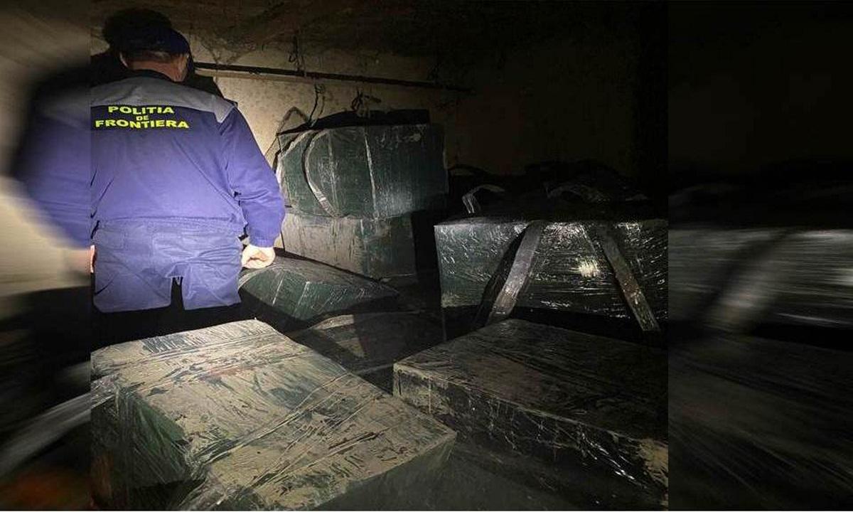 Zi de 13 cu ghinion pentru contrabandişti. Ţigarete de peste 21.000 de euro confiscate de către poliţiştii de frontieră