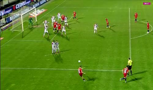 FCSB – FC BOTOȘANI 2-1. Elevii lui Croitoru pierd meciul după o gafă de portar