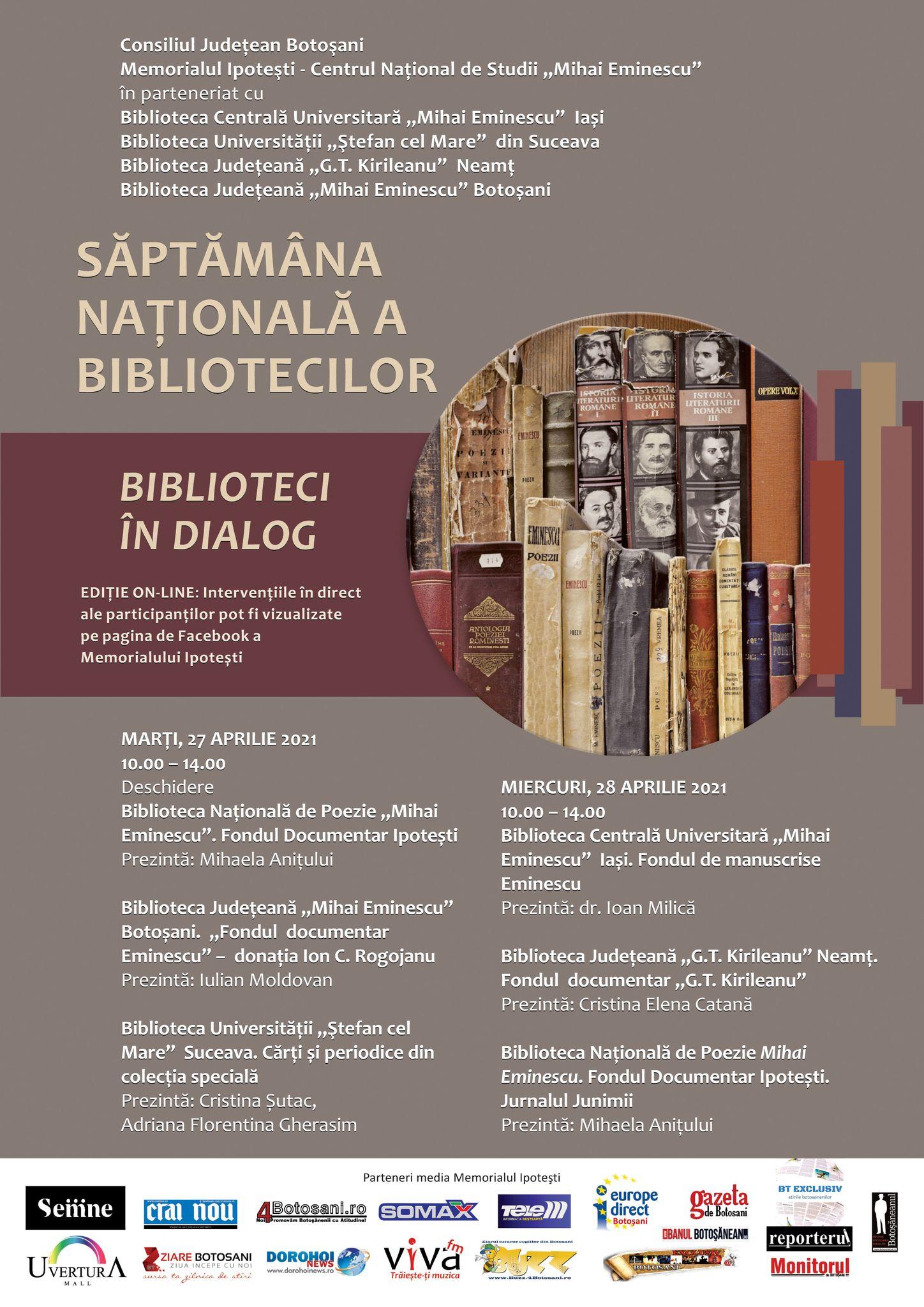 Dialogurile bibliotecilor