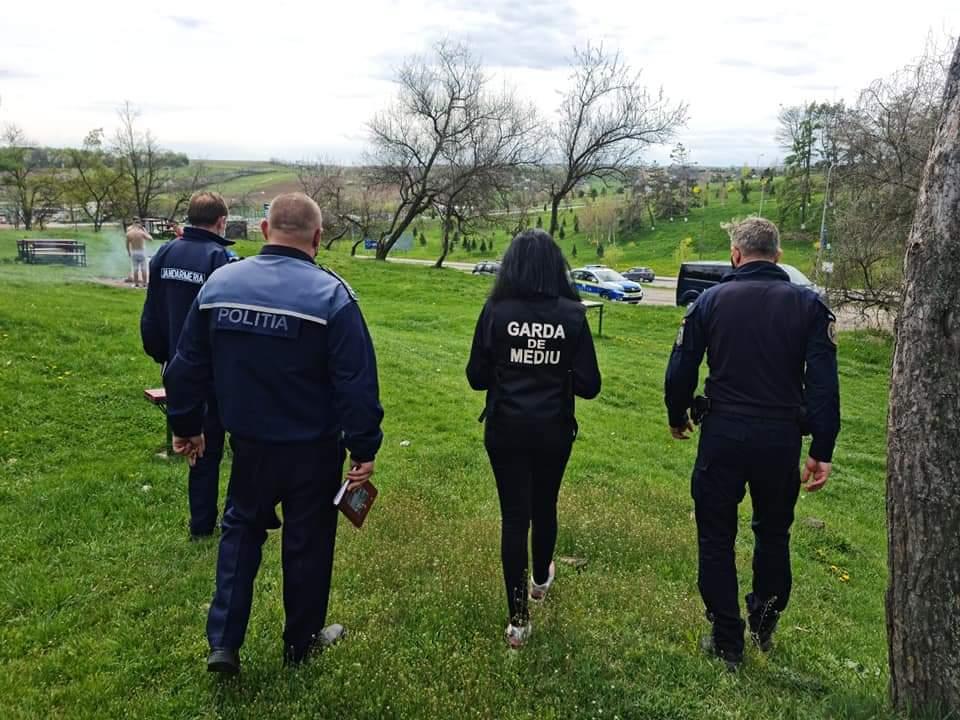 Garda de Mediu a verificat zonele de picnic cât și în zonele de afluenţă publică consacrate pentru altfel de activități