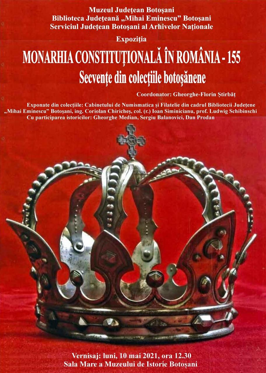 """Expozitia """"Monarhia constituțională în România – 155"""""""