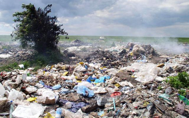 Amendă pentru incendierea deșeurilor