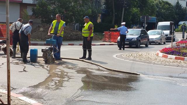 Un cartier din zona centrală a municipiului rămâne fără apă