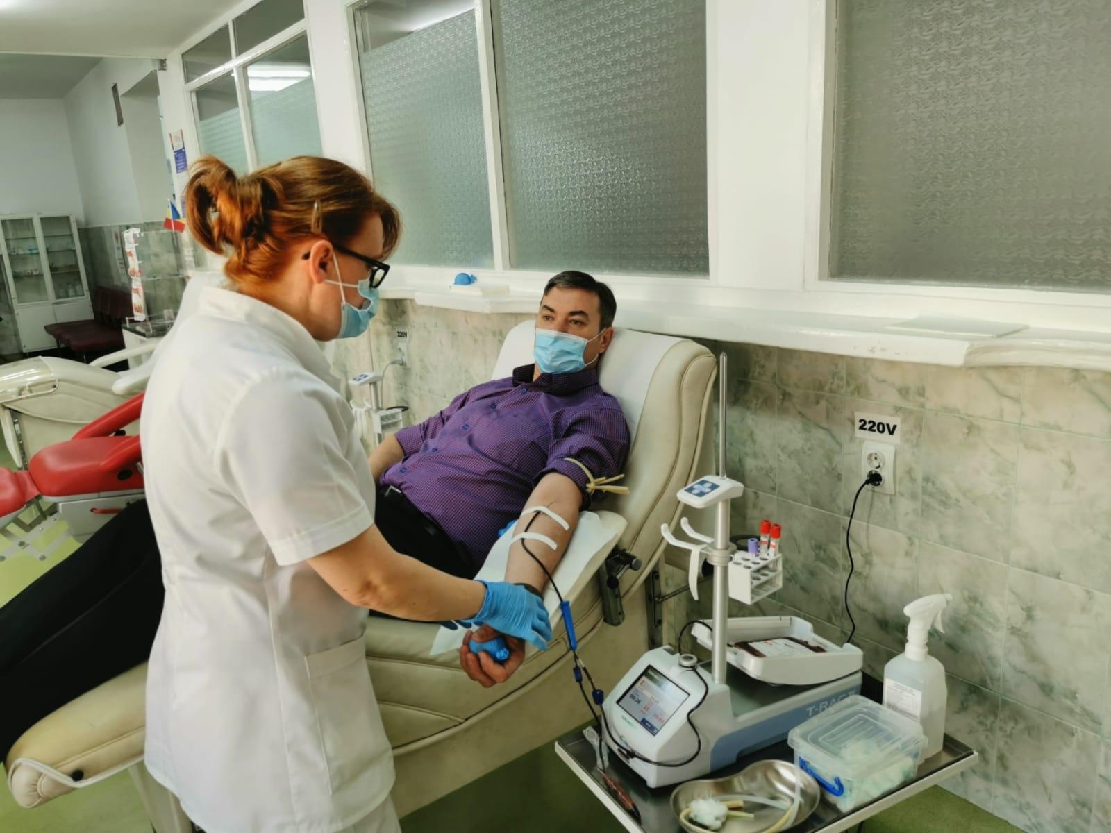 """Deputat PSD Dan Șlincu: """"Donarea de sânge face diferența dintre viață și moarte! Fiecare dintre noi avem puterea și datoria să ne ajutăm semenii!"""""""
