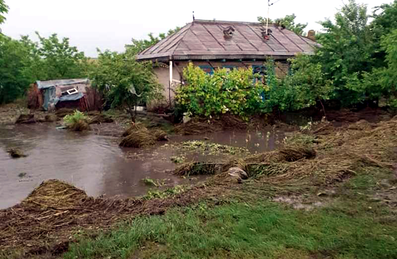 VIDEO/  Dezastru în urmă ploilor de ieri! Familii evacuate din locuințe
