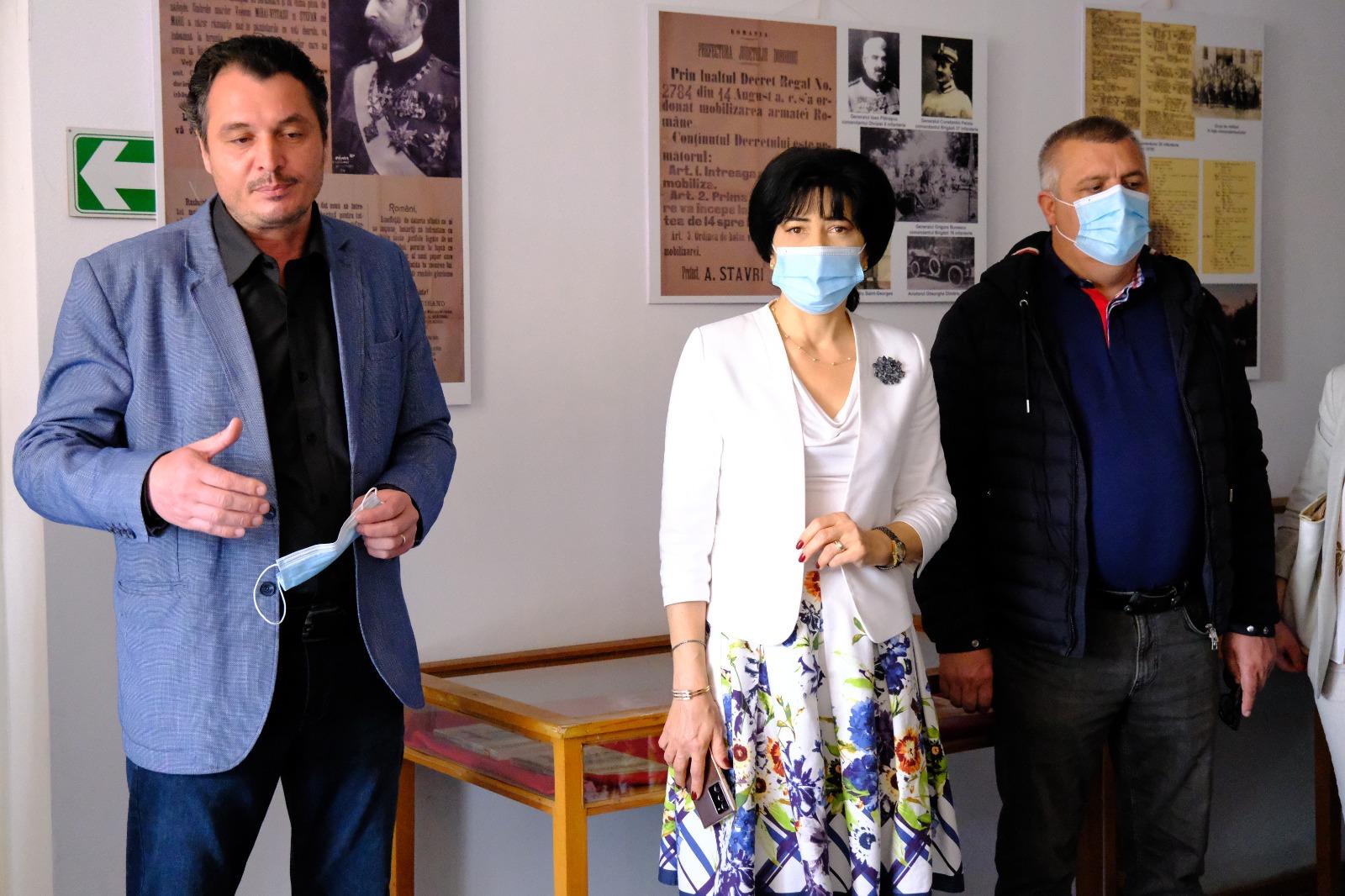 FOTO/ Eroi omagiați la Muzeul de Arheologie Săveni