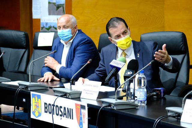 """VIDEO/FOTO  ORBAN la Botoșani:  """"În sfârșit vor fi modernizate aceste drumuri importante pentru Botoșani"""""""