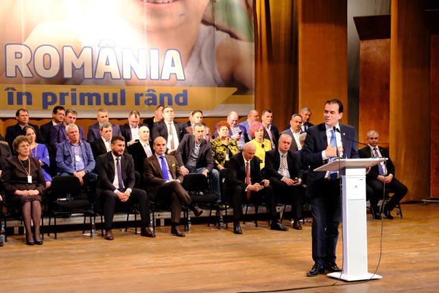 Președintele PNL, Ludovic Orban vine sâmbătă la Botoșani