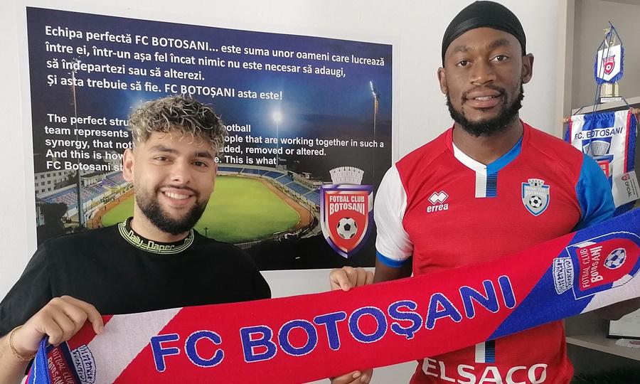 Belgianul Fred Maecky Ngombo a semnat cu FC Botoșani!