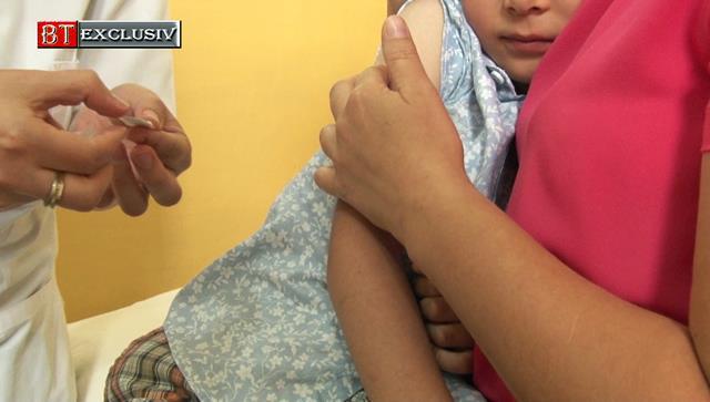 DSP BOTOȘANI: Începe vaccinarea copiilor