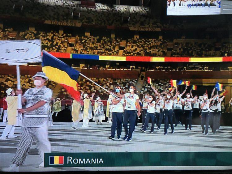 FOTO/ Botoșăneanca Simona Radiș a purtat drapelul României la Jocurile Olimpice