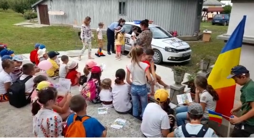 Polițiștii botoșăneni în tabăra de la Răuseni