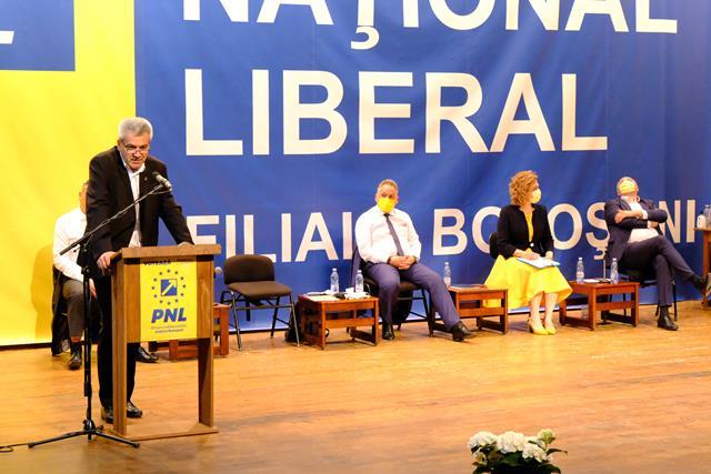 FOTO/   Organizația municipală PNL Botoșani,  și-a desemnat conducerea pentru următorii patru ani