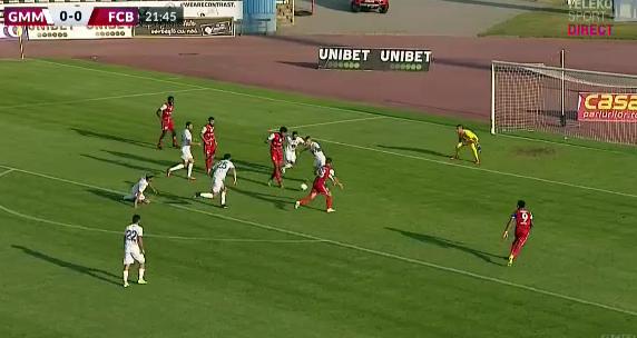 Gaz Metan Mediaș – FC Botoșani 0-1. Elevii lui Croitoru ajung la 4 victorii consecutive
