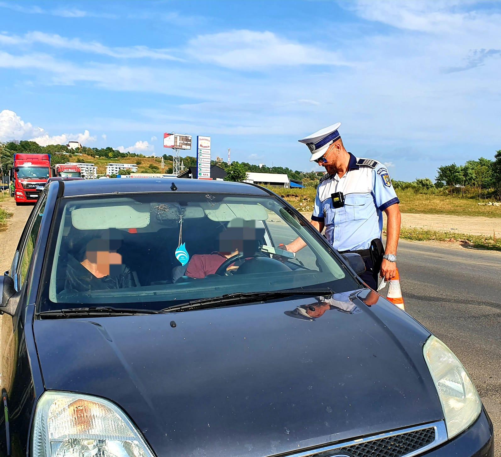 FOTO | Razie a politiei pe drumurile din județ! 12 permise reținute și zeci de amenzi