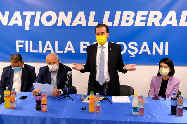 Liderul PNL, Ludovic Orban prezent la Botoşani