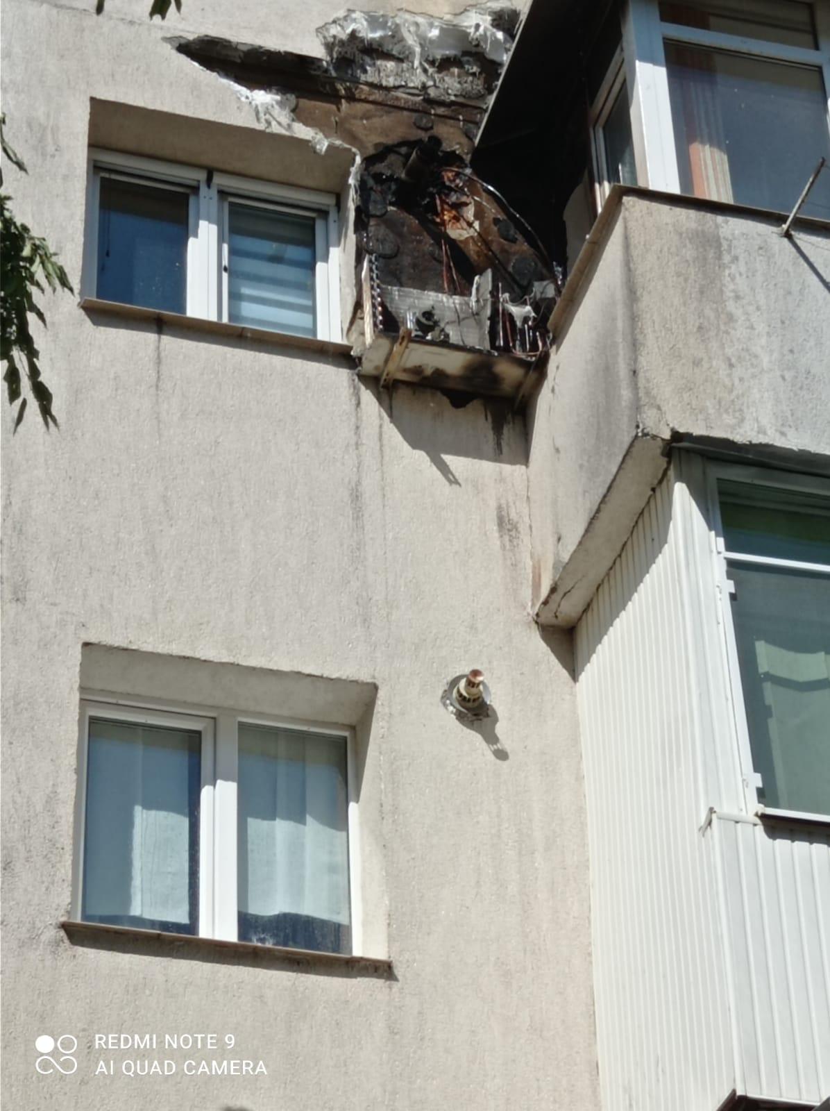 Momente de panică pentru locuitorii unui bloc din municipiul Botoșani