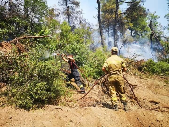Pompierii români, lăudați în presa din Grecia: Sunt de pe altă planetă. Folosesc drone, sunt organizați și au reflexe uimitoare