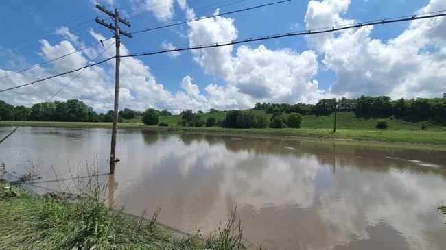 Risc de inundații pe câteva cursuri de apă din județul Botoșani
