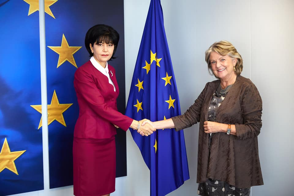 Federovici s-a intalnit la Bruxelles cu comisarul european pentru Coeziune și Reformă,  Elisa Ferreira
