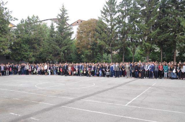 Polițiștii, alături de elevi, la începutul anului școlar