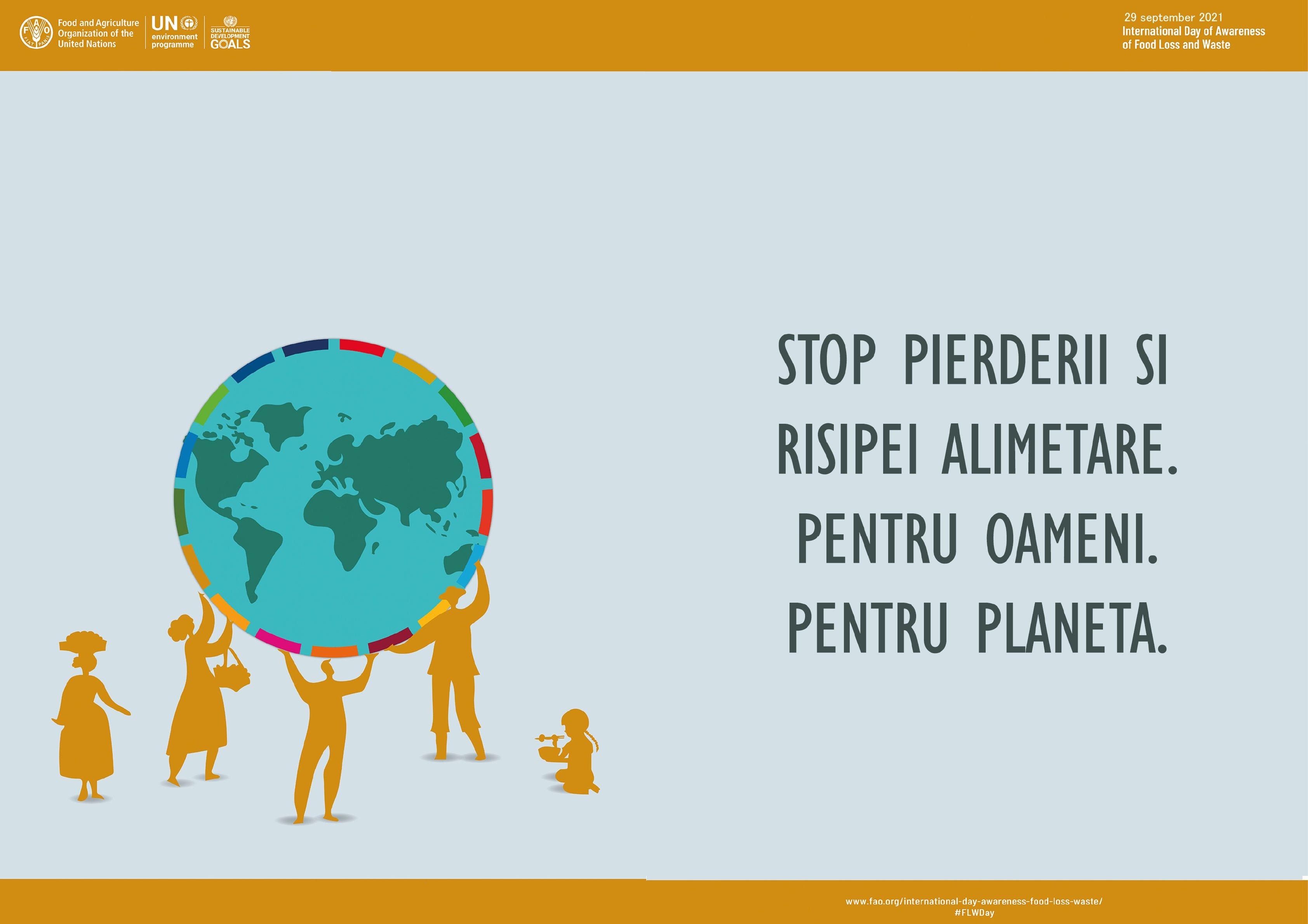 DAJ Botoșani marchează Ziua internaţională de conştientizare a risipei alimentare