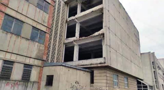 Amendă pentru praful rezultat din demolarea Rapsodia Conf
