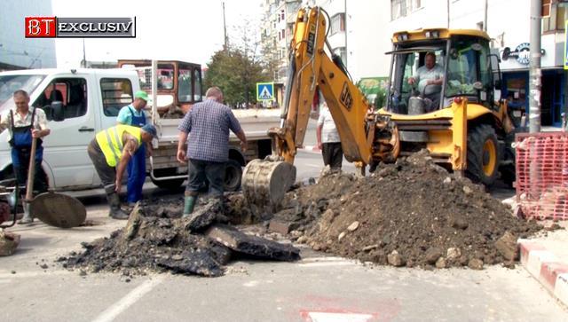 O nouă avarie lasă municipiul Botoșani fără apă în cateva cartiere
