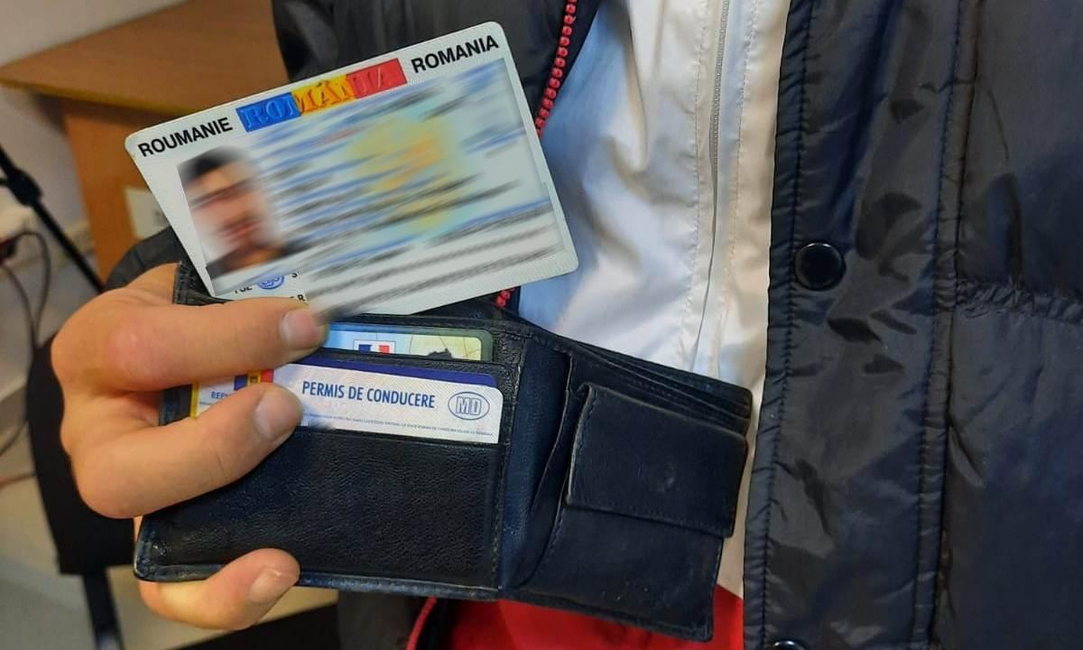 Cartea de identitate falsă procurată cu ajutorul unui prieten a fost descoperită de poliţiştii de frontieră