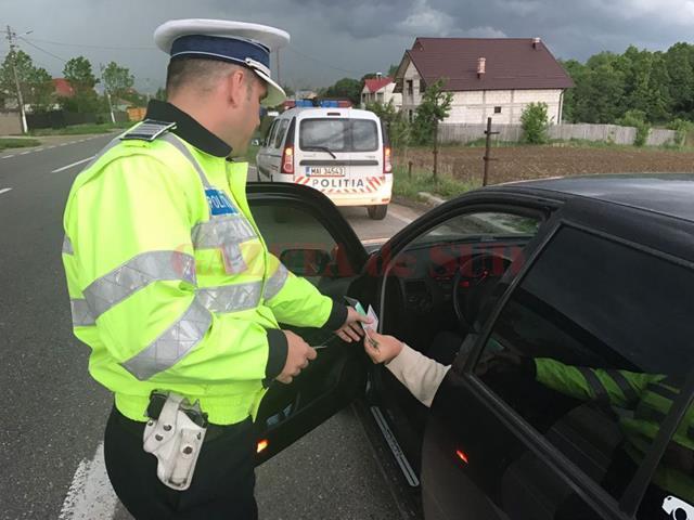Șoferi certați cu legea: 130 de sancțiuni în două zile